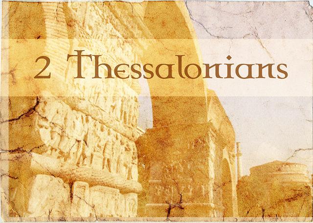 Bilderesultat for 2 thessalonians