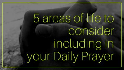 Considerations before making the Unspoken Prayer Requests