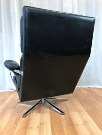 Vintage Swedish Leather Lounge Chair and Ottoman ***SOLD ...