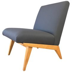 Modern Slipper Chair Round Patio Table 6 Chairs Jens Risom For Knoll Mid Century Past Perfect 9851163 Master