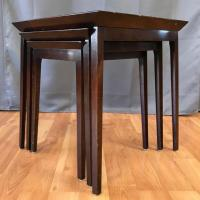 Widdicomb Mahogany Nesting Tables - Set of 3 - Past Perfect