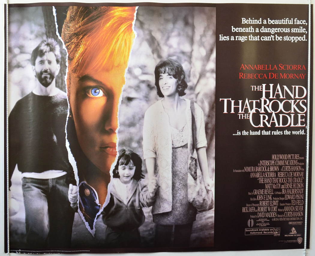 Image result for The Hand That Rocks The Cradle poster