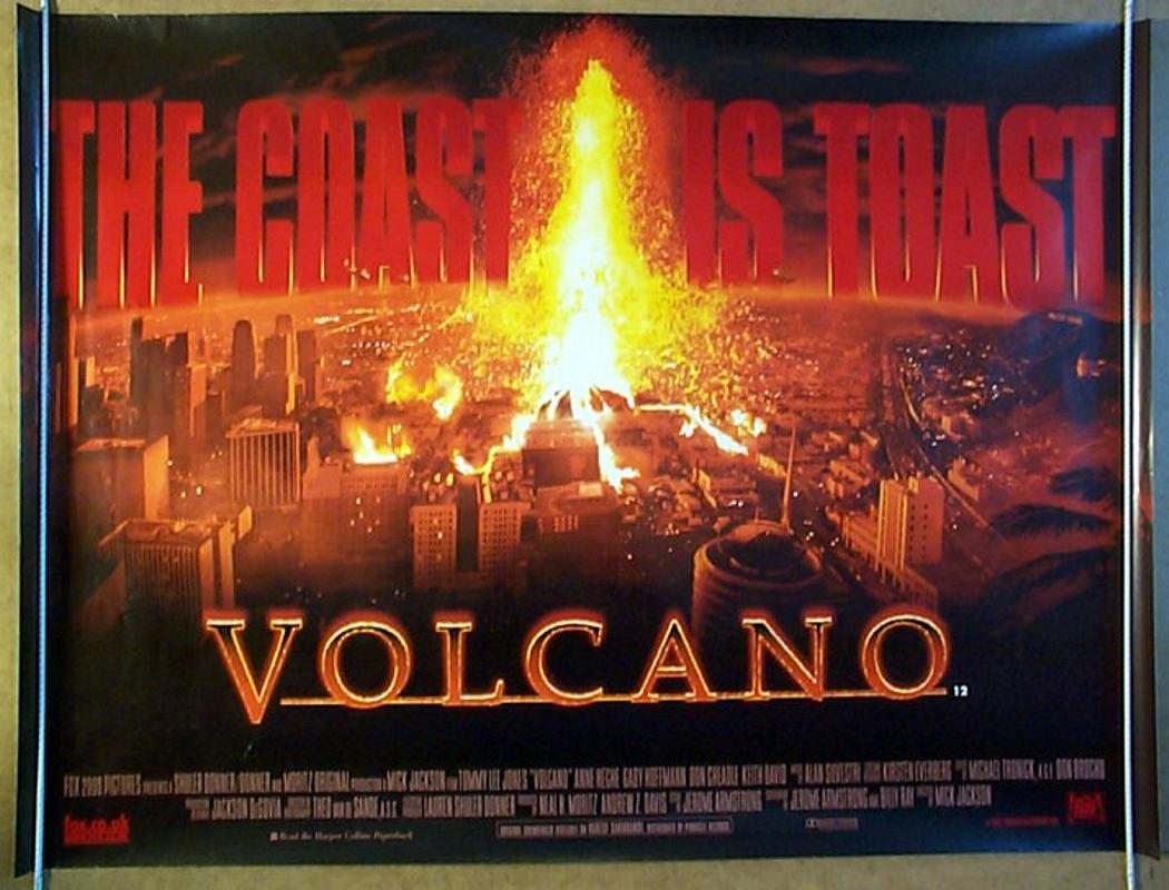 Volcano  Original Cinema Movie Poster From pastposters