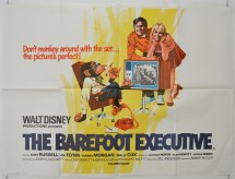 The Barefoot Executive Movie Poster Original