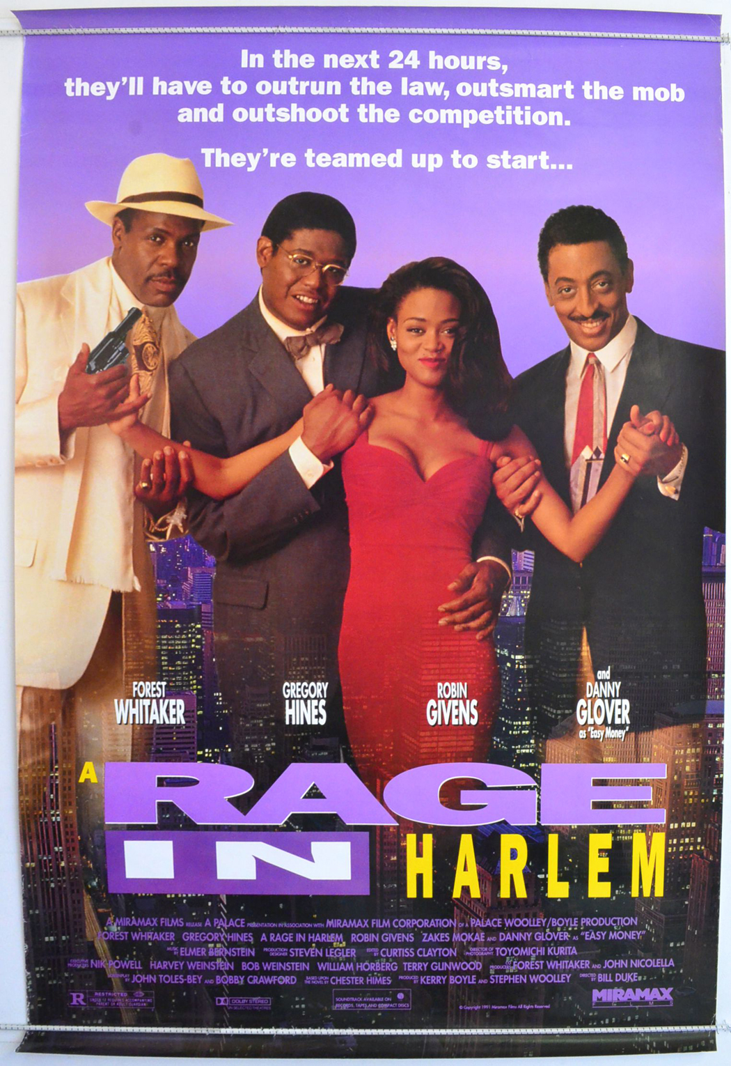 A Rage In Harlem  Original Cinema Movie Poster From