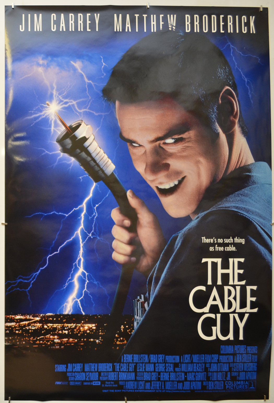 hight resolution of  the cable guy
