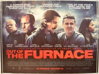 OUT OF THE FURNACE (2014) Original Cinema Quad Movie ...