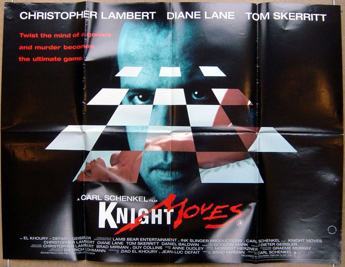 Knight Moves  Original Cinema Movie Poster From