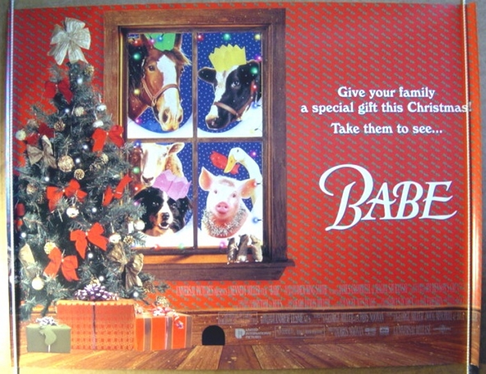 Babe Teaser Original Cinema Movie Poster From