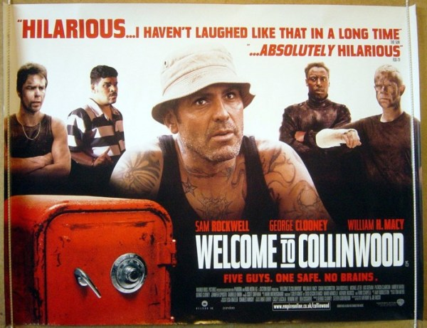 Welcome To Collinwood Original Cinema Movie Poster From