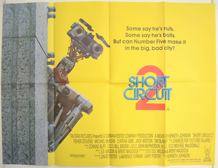 Original Radiocontrolled Miniature From Short Circuit 2