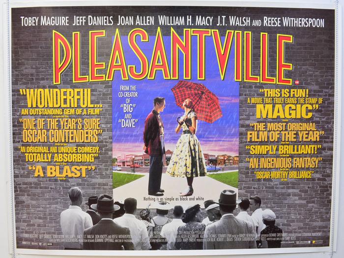 Image result for pleasantville poster