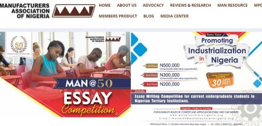 MAN@50 Essay Writing Competition 2021