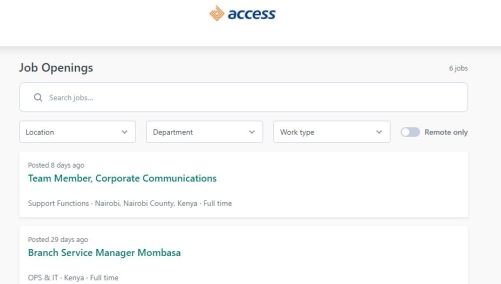 How to Apply for Access Bank Entry Level Recruitment