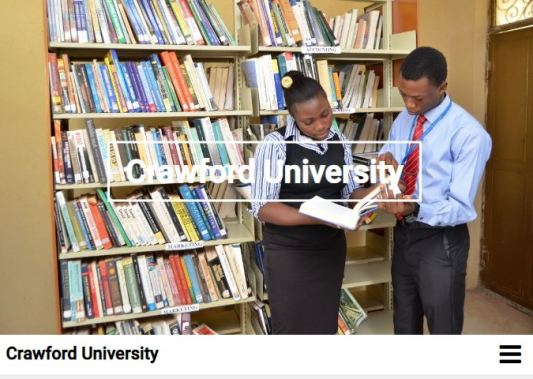 Crawford University Post UTME Past Questions and Answers