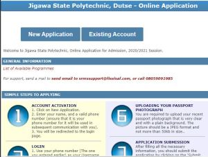 JIGPOLY Post UTME Past Questions and Answers