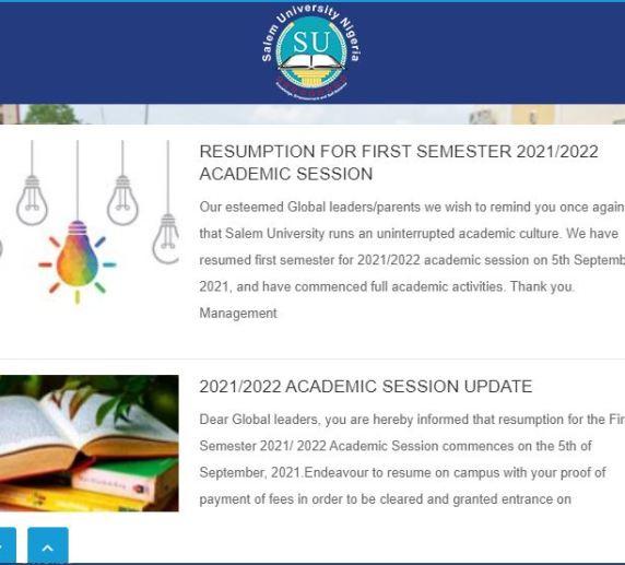 Salem University,Lokoja Post UTME Past Question PDF