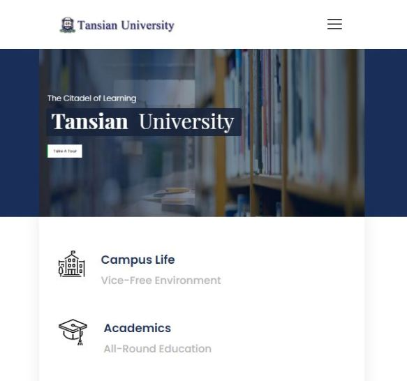Tansian University Post UTME Past Questions and Answers