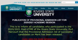 RSU Cut Off Mark for all Courses and Departments
