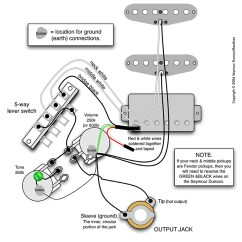Wiring Diagram Guitar 5 Way Switch Electrical Diagrams Building H-s-s-1vol.-1ton.-5pos. | Pastrana Guitars