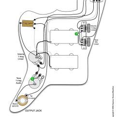 Fender Mustang Guitar Wiring Diagram For Automotive Ac H-h-jazzmaster | Pastrana Guitars