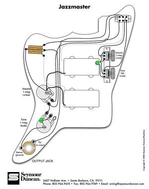 diagram | Pastrana Guitars