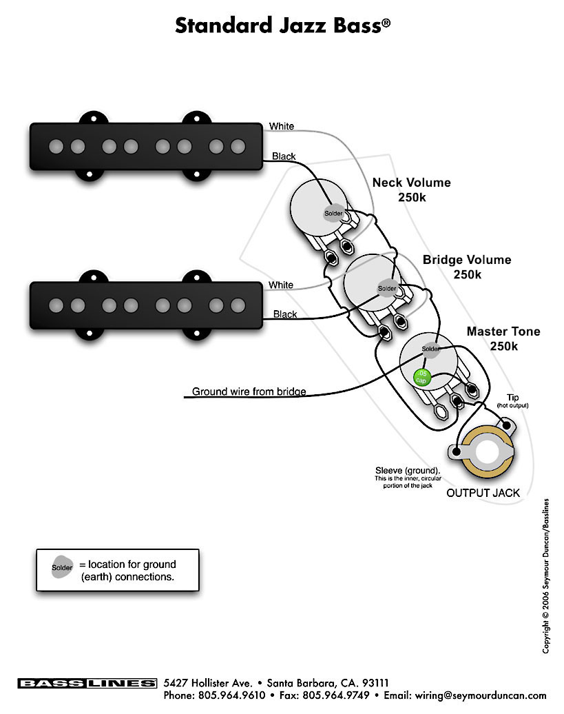 Fender Squier Jazz Bass Wiring Diagram Squier Strat Wiring Diagram