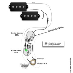 Gibson Les Paul Junior Wiring Diagram T Max Winch Remote Control P Bass Standard | Pastrana Guitars