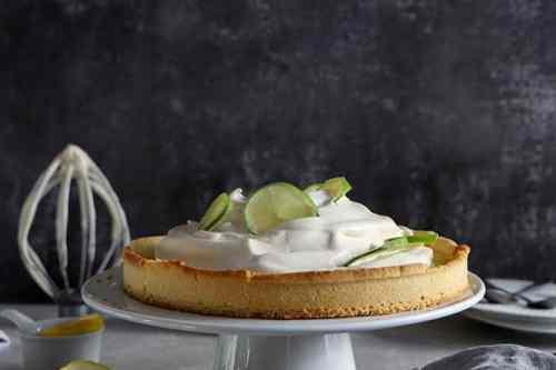 tarte citron meringuée vegan