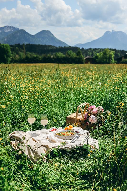 photographie culinaire en exterieur champ en montagnesaint jorioz savoie, photographe culinaire, astuce