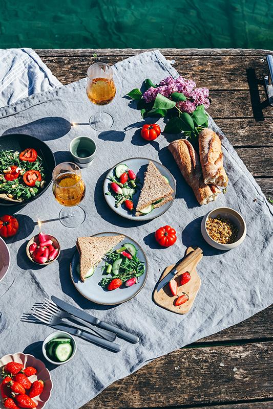 photographie culinaire en exterieur ponton lac d'annecy saint jorioz savoie, photographe culinaire, astuce