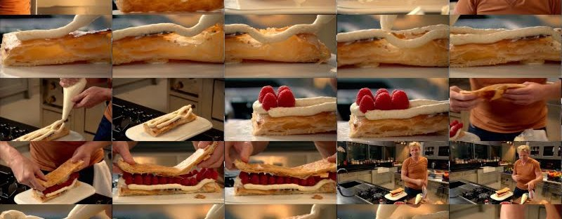 Raspberry Milliefeuille