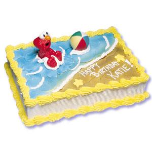 Elmo Cake Decorating Instructions