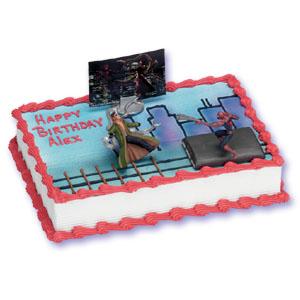 Spider Man 2 Cake Decorating Instructions