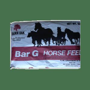 Golden Oak Bar G Horse Feed