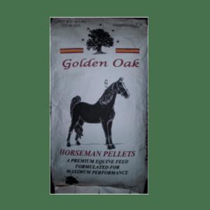 Golden Oak Horseman Pellet