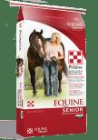 Equine Senior Horse Feed at Pasturas Los Alazanes in Dallas, Texas.