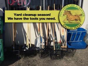 Yard rakes