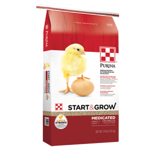 Purina Start and Grow Medicated