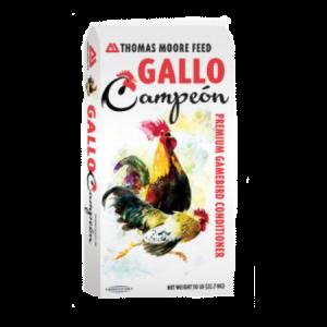 Gallo Campeón Gamebird Maintenance