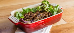 Turmeric and Herb Pulled Beef