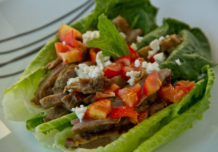 Lamb Belly Tacos