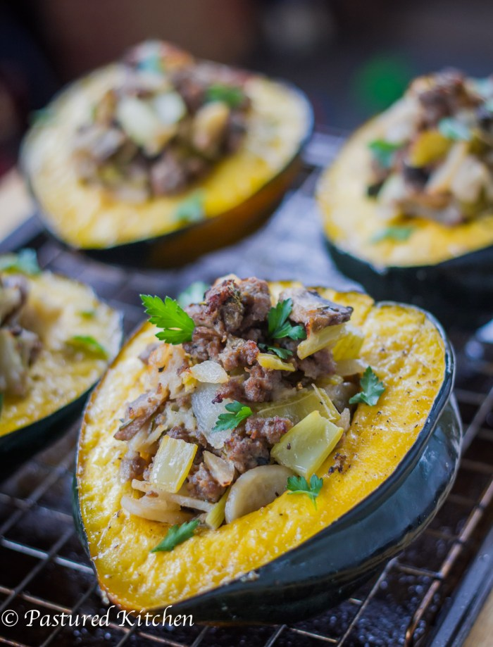 Wild Boar Stuffed Squash-2
