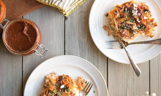 Fed and Fit Cookbook   BBQ Chicken Potato Casserole