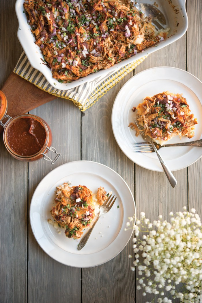 Fed and Fit BBQ Chicken Potato Casserole
