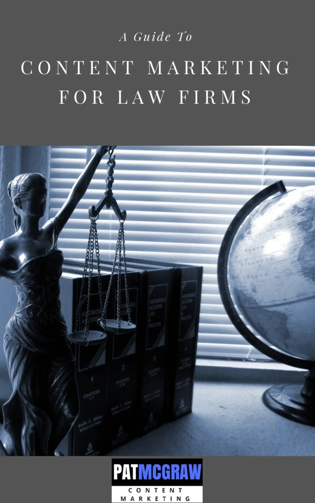 guide to content marketing law firms