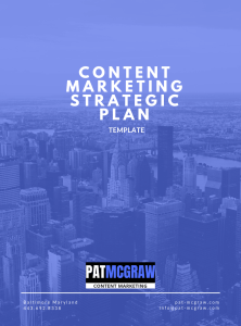 Content Marketing Strategic Plan Template