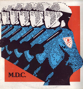 MDC - Millions of Dead Cops S/T LP (red vinyl)