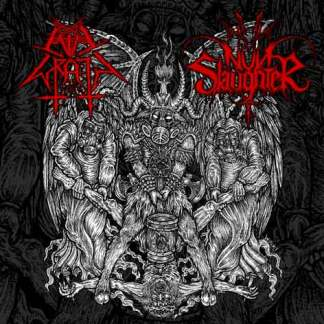 "Nunslaughter/Evil Wrath- Hammer of Satan 7"" Vinyl EP"