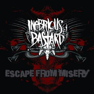 "Inebrious Bastard 'Escape From Misery' 7"" Vinyl EP"